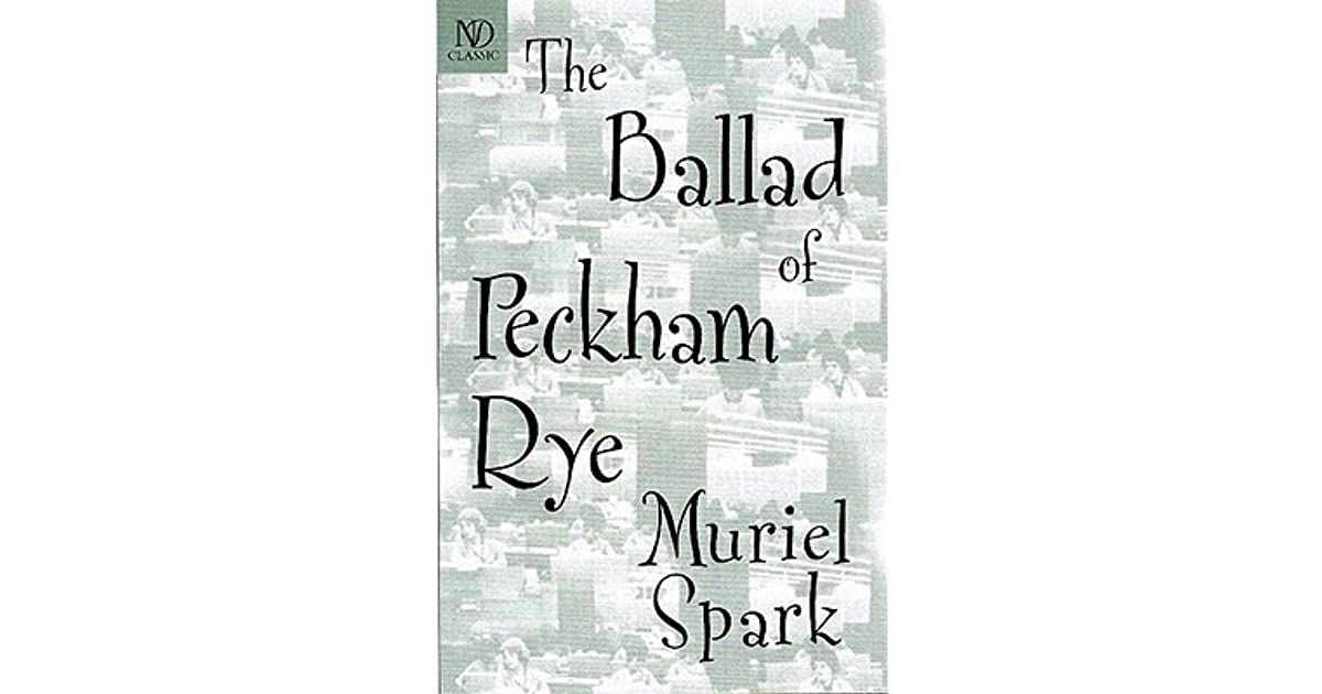 The Ballad of Peckham Rye by Muriel Spark d751cee7308