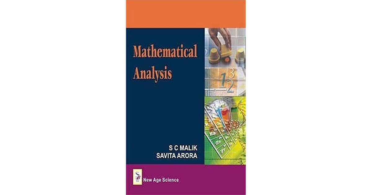 Mathematical analysis: buy mathematical analysis by s c malik.