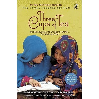 three cups of tea by sarah l thomson three cups of tea