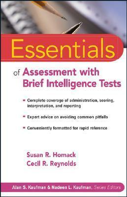 Essentials of brief assessment