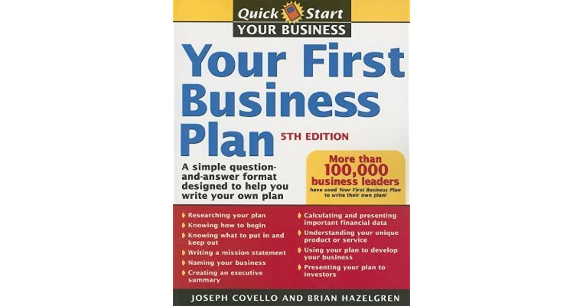Help creating a business plan