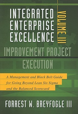 Improvement Project Execution: A Management and Black Belt Guide for Going Beyond Lean Six Sigma and the Balanced Scorecard