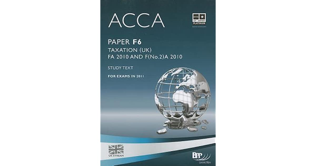 acca atc f6 taxation russia study Astranti acca free and premium materials to help students pass their acca f6 taxation exam - free online study texts and examiners' guides for all modules.