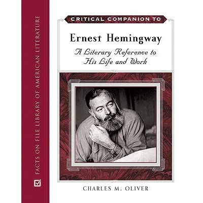 the literary life of ernest hemingway Smart, fresh history of ernest hemingway biography by real life, and was influenced his place in the canon of literary greats is a slim novella that.