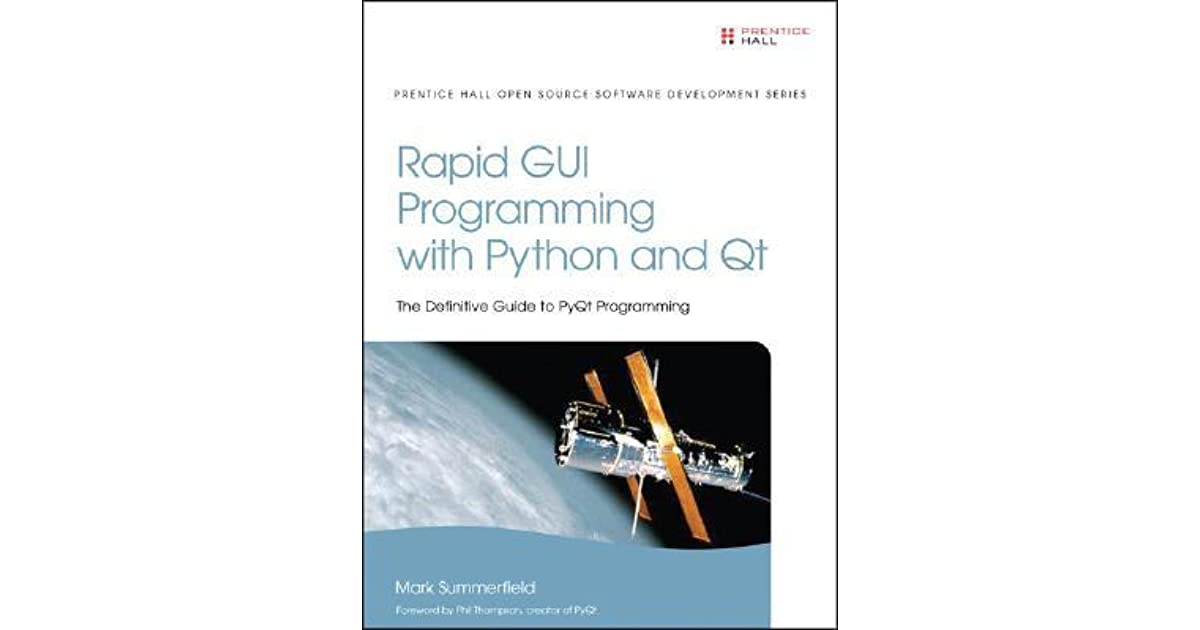 Ebook programming python qt rapid download gui and with