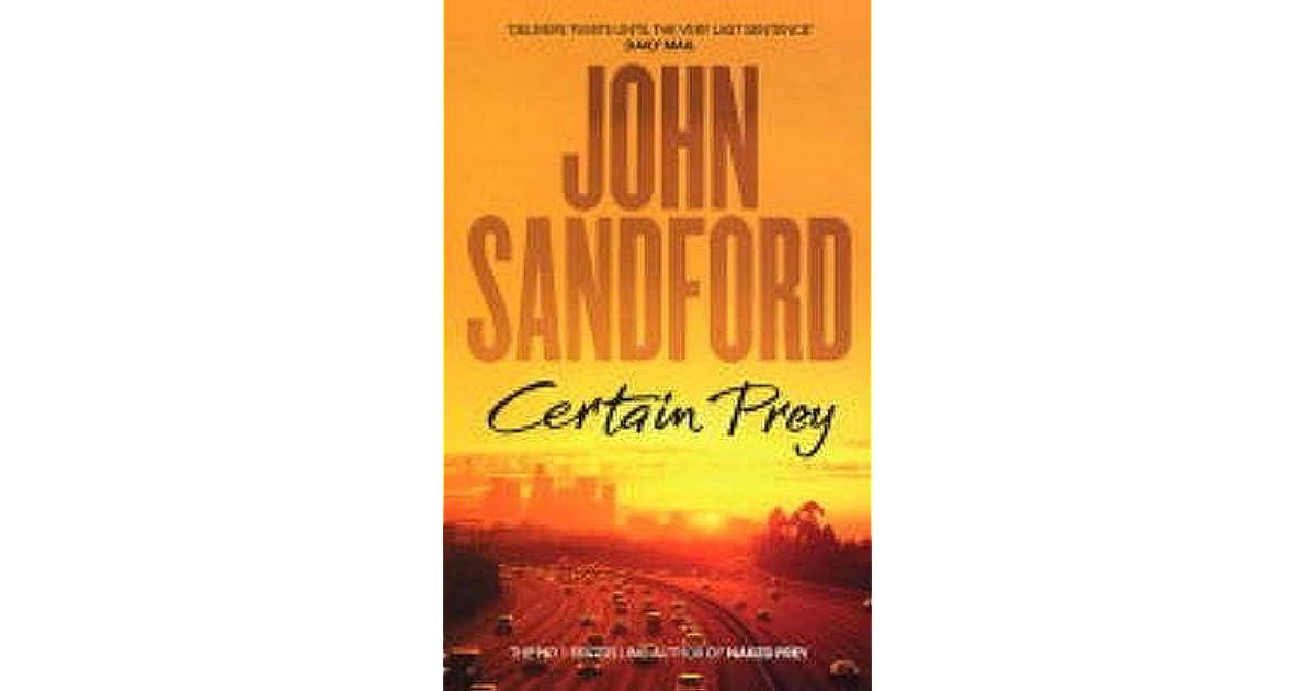 Certain Prey Lucas Davenport 10 By John Sandford