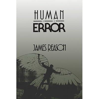 human error reason james