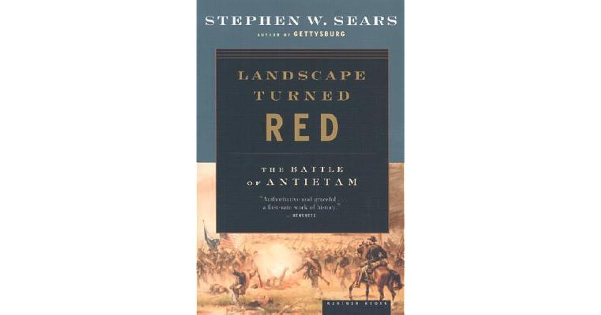 Landscape turned red the battle of antietam by stephen w sears fandeluxe Choice Image