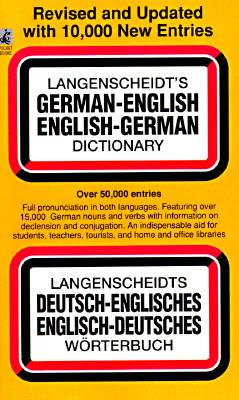 Langenscheidt's German-English English-German Dictionary by