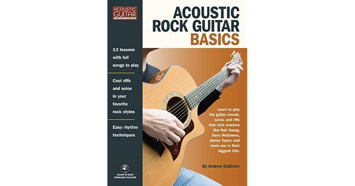 Acoustic Rock Guitar Basics: Access to Audio Downloads