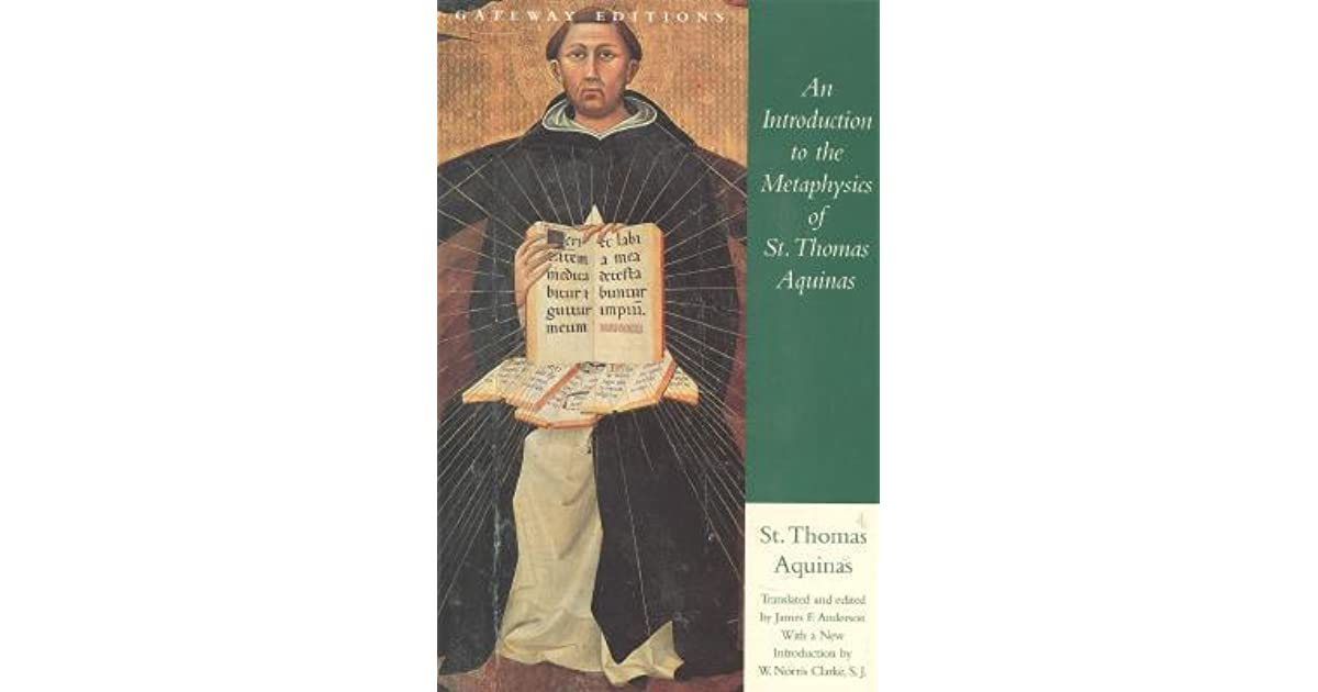 an introduction to the life of saint thomas aquinas