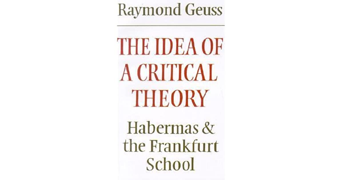 habermas essays Habermas, lyotard & discourse – a critical essay on the philosophical inconsistencies of postmodern thought & the importance of dissent.