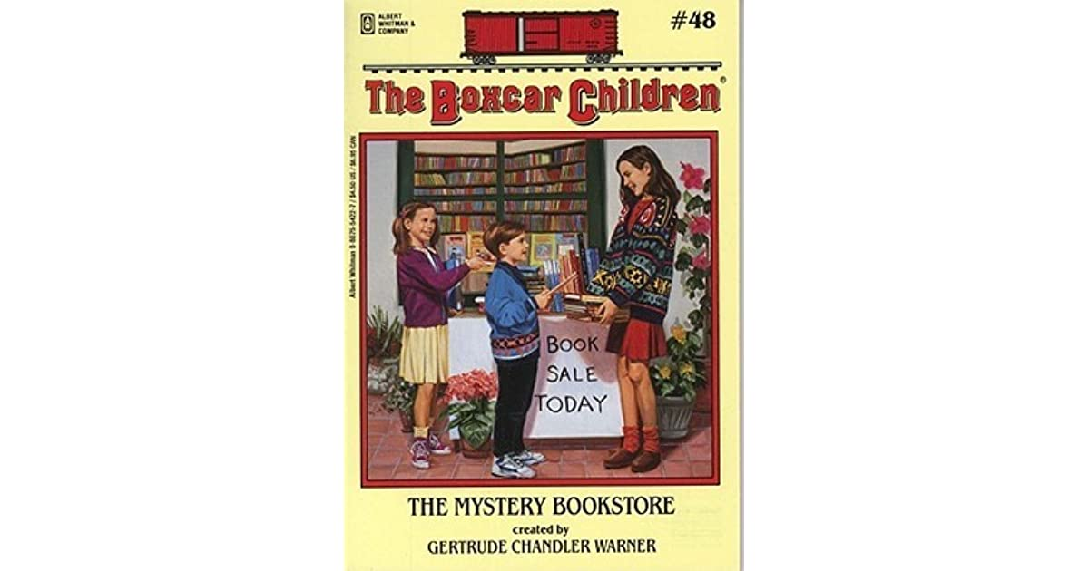Boxcar Children Book Cover : The mystery bookstore by gertrude chandler warner