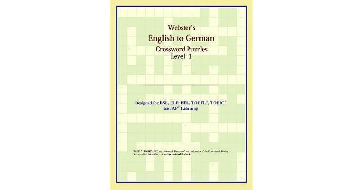 German Crosswords Level 1