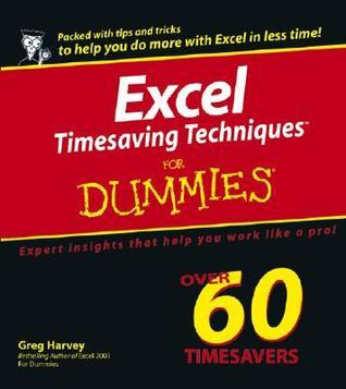 Excel Timesaving Techniques for Dummies (ISBN - 0764574272)