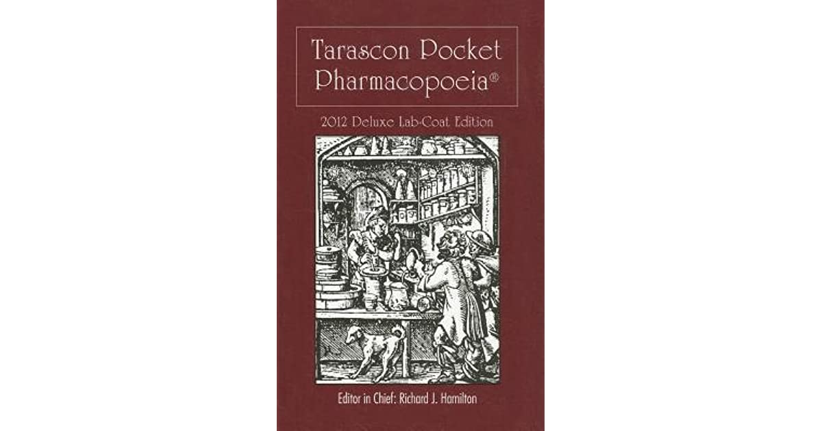 Tarascon Pocket Pharmacopoeia 2015 Pdf