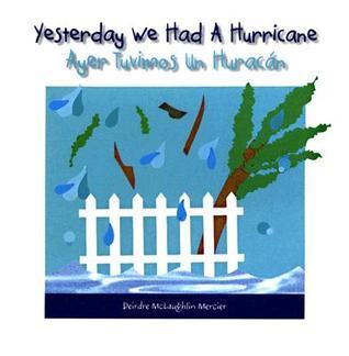 Yesterday We Had a Hurricane / Ayer Tuvimos un Huracon