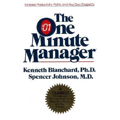 Self Leadership And The One Minute Manager Pdf