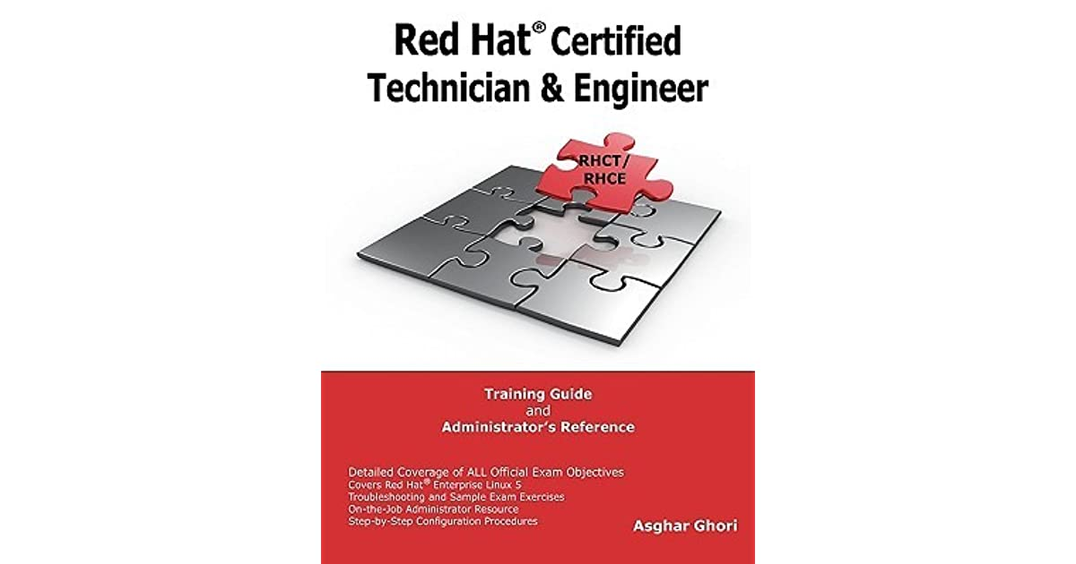 Red Hat Certified Technician Engineer Rhct And Rhce Training
