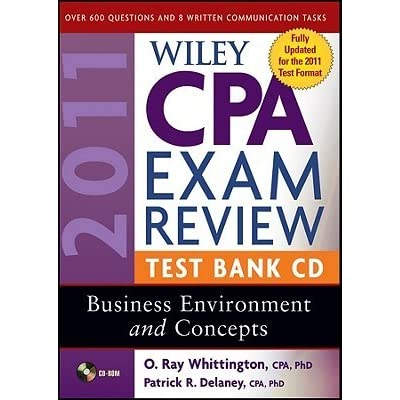 Wiley CPA Examination Review Focus Notes: Business Environment and Concepts 2011