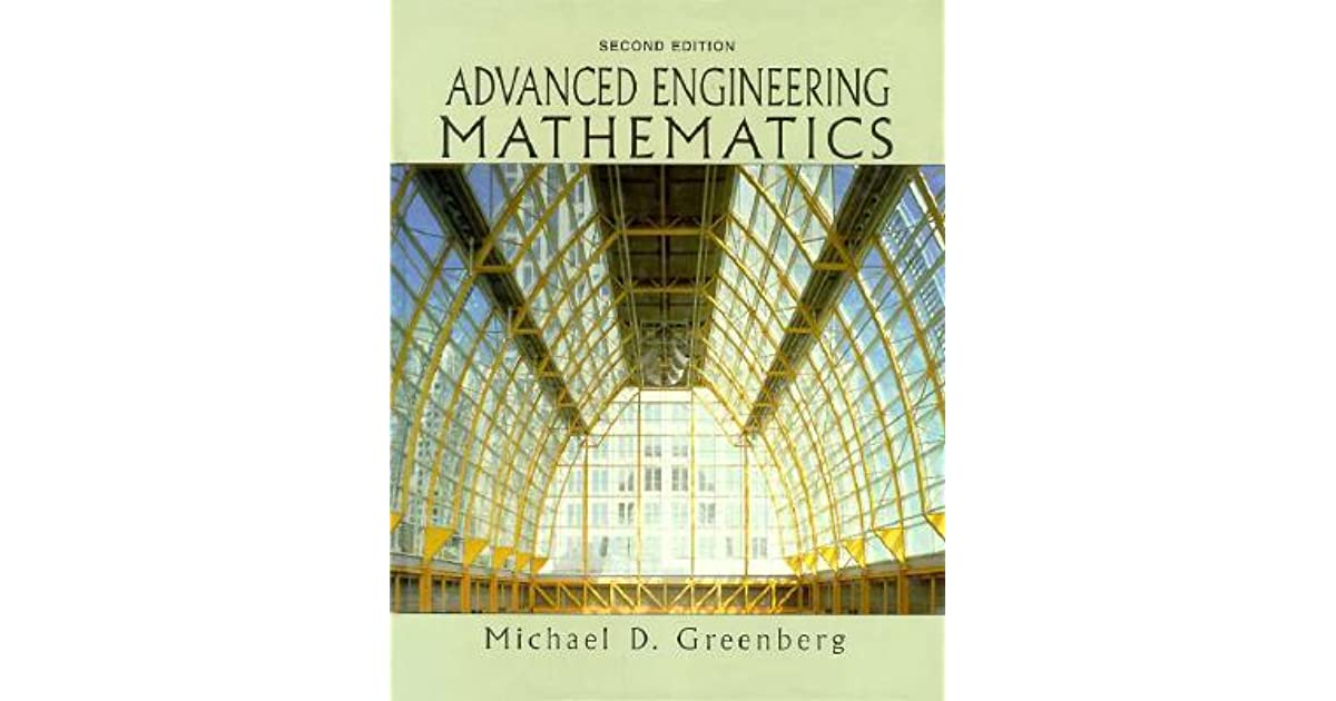 Advanced Engineering Mathematics Michael Greenberg Pdf