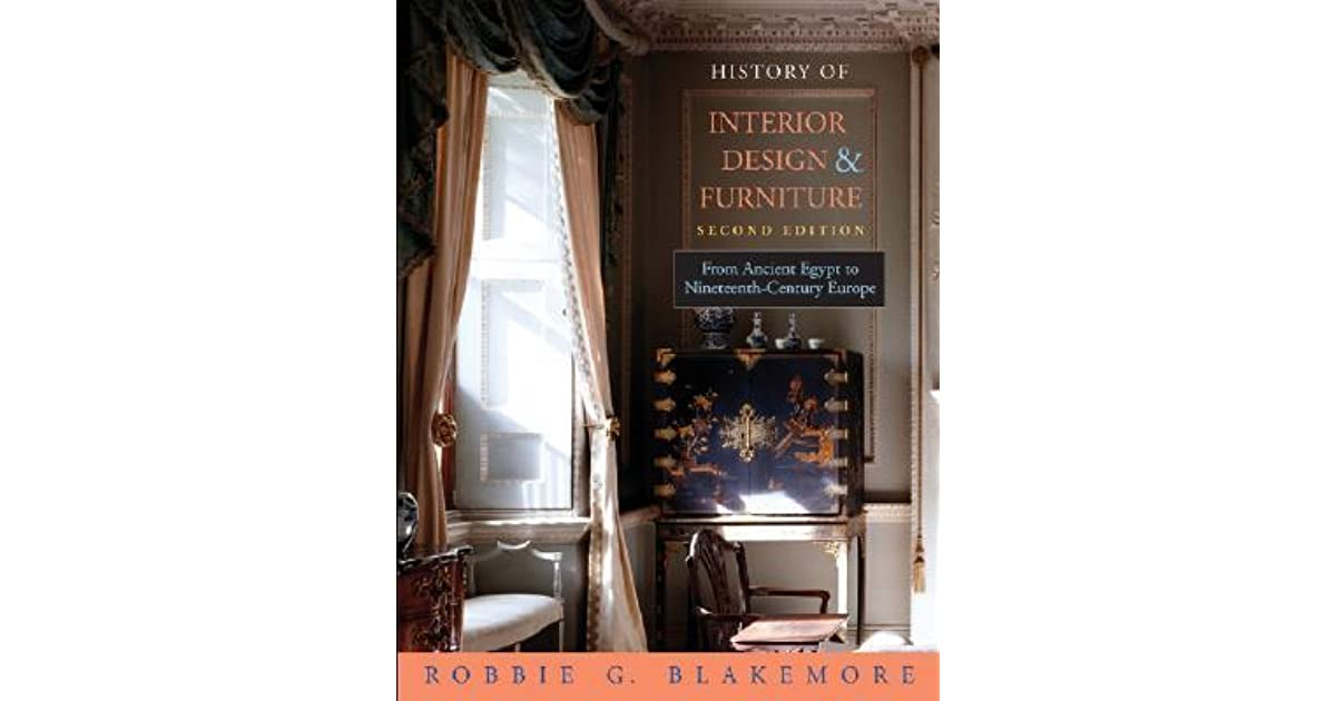 History of interior design furniture from ancient egypt to nineteenth century europe by for History of interior design book