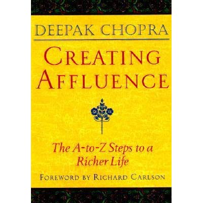 Deepak chopra pdf creating affluence