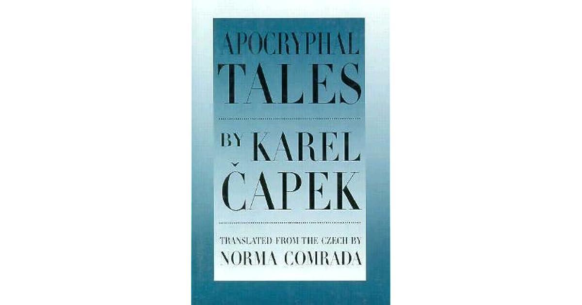 Apocryphal Tales By Karel čapek