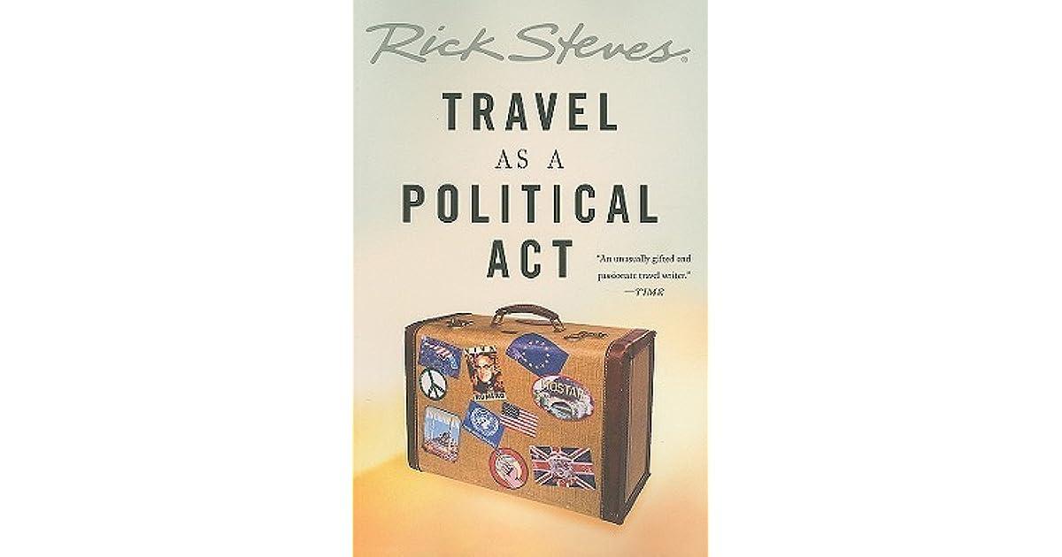 travel as a political act rick steves