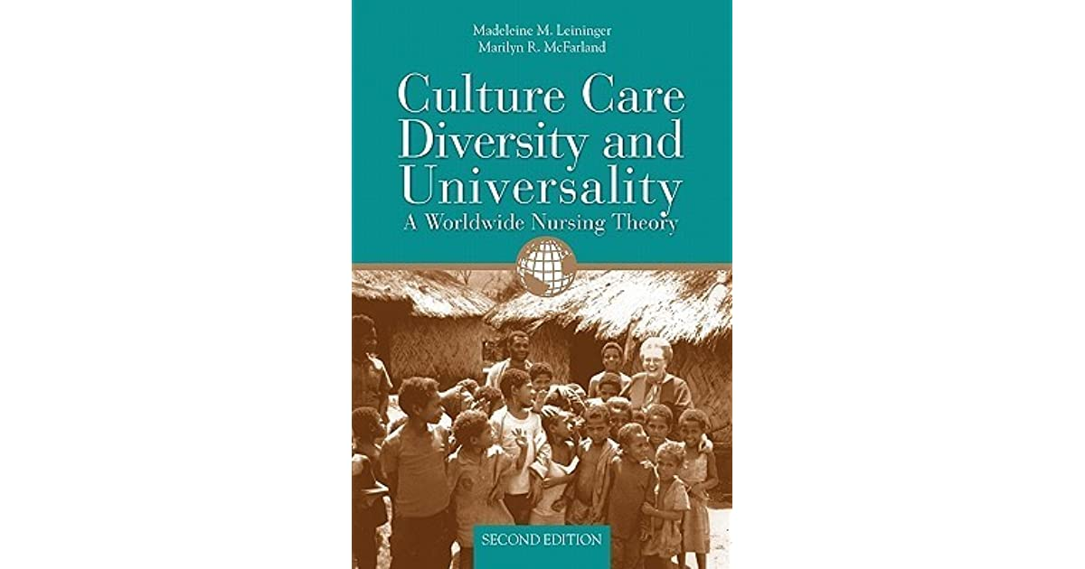 theory of culture care diversity and universality Start studying health promotion: leininger's cultural care diversity & universality theory learn vocabulary, terms, and more with.