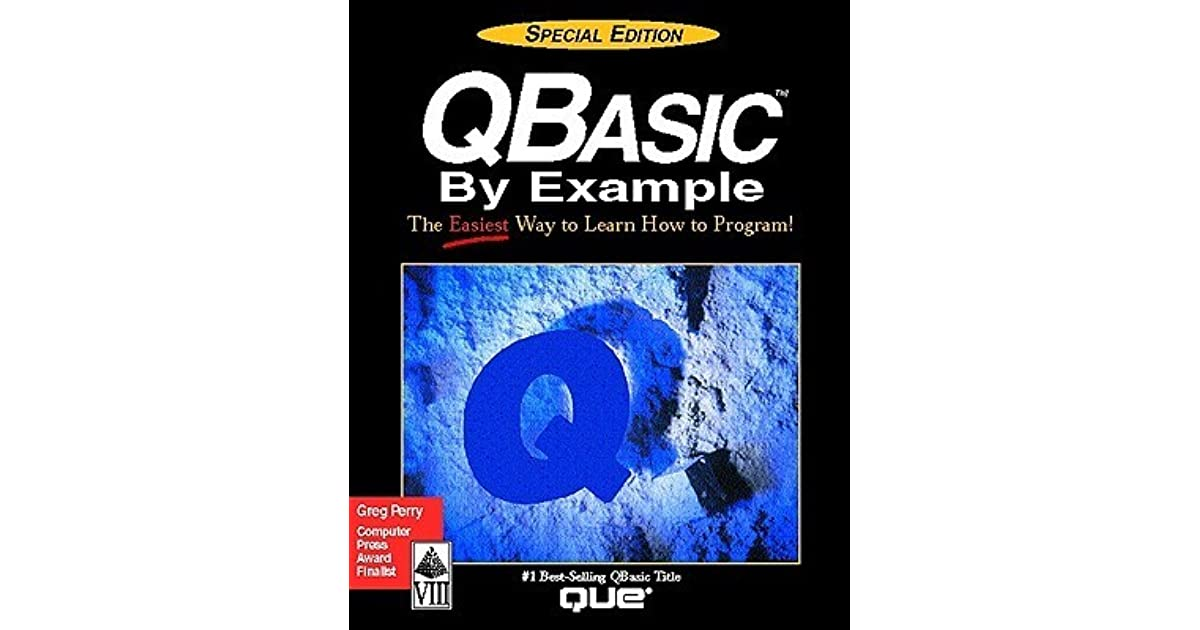 Qbasic by example special edition by greg perry fandeluxe Images