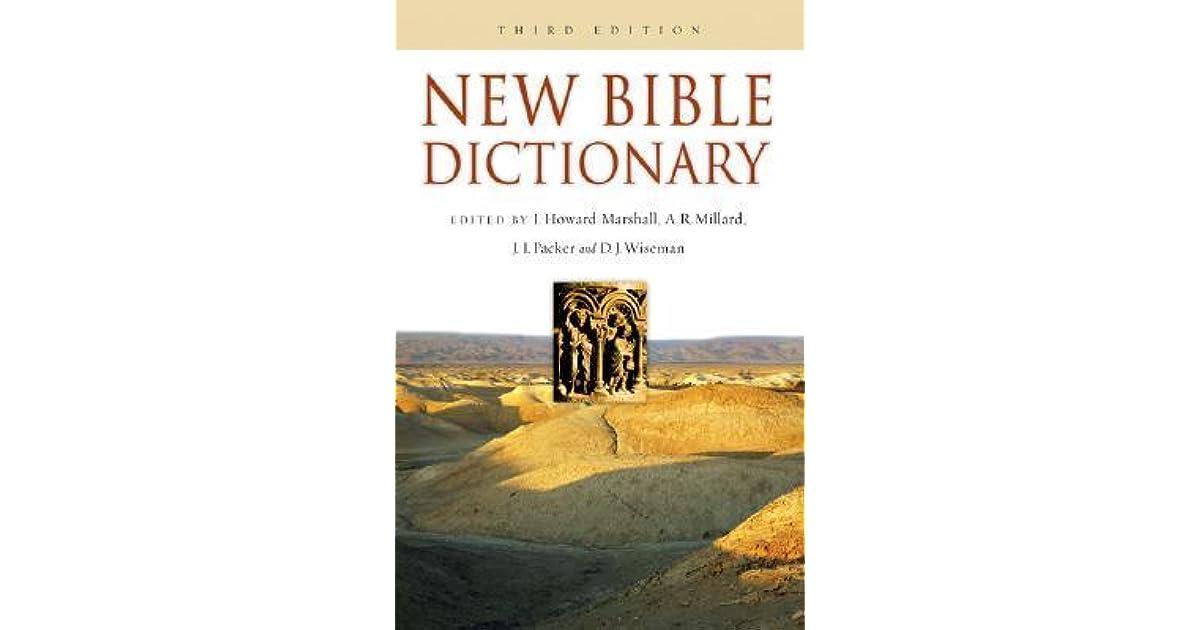 New Bible Dictionary by I  Howard Marshall
