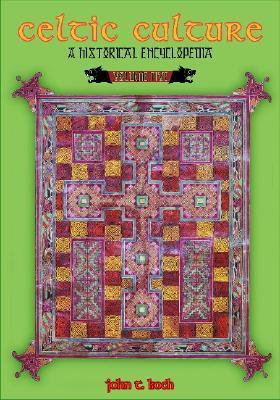 5 volumes Celtic Culture A Historical Encyclopedia
