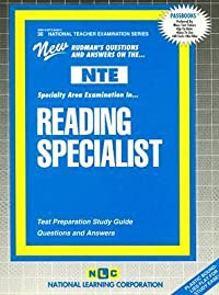 Reading Specialist: Test Preparation Study Guide