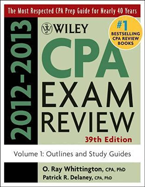 wiley cpa examination review volume 1 outlines and study guides by rh goodreads com CPA Study Course CPA Study Materials