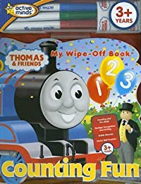 Thomas & Friends Counting Fun [With Cleaning Cloth and Wipe-Off Markers]