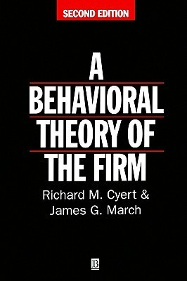 behavioural theory of the firm