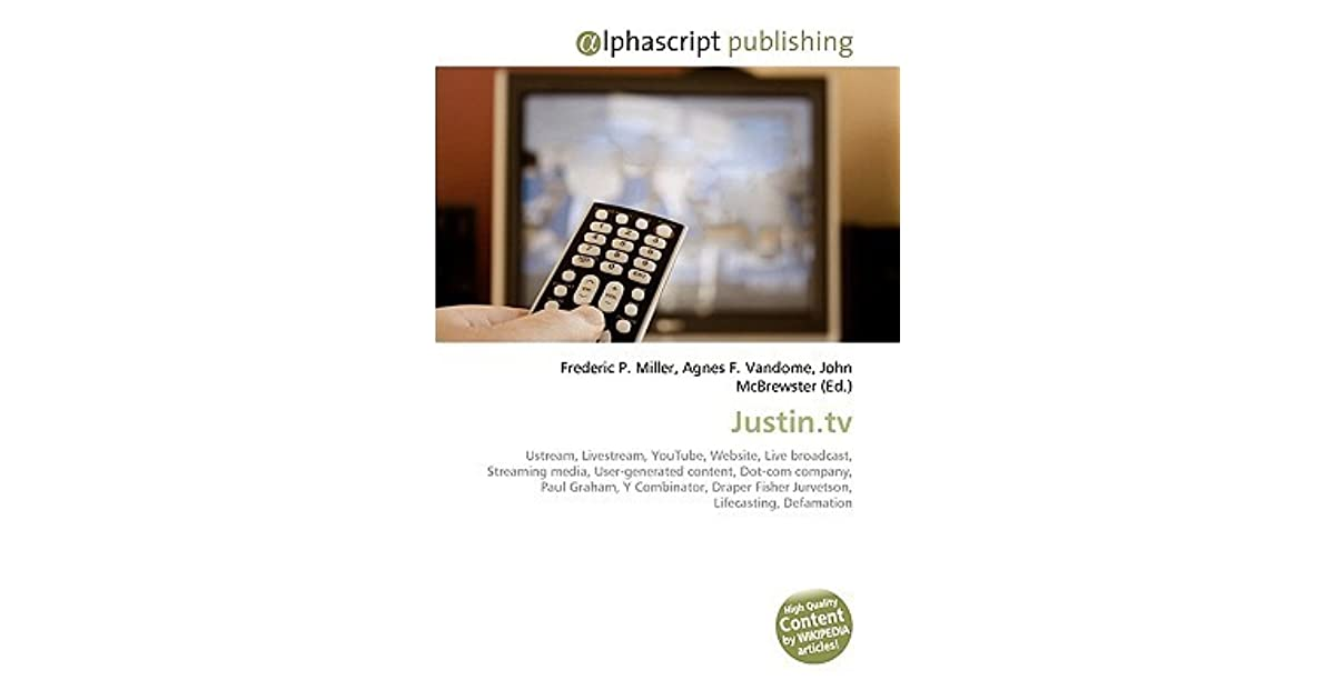 Justin TV by Frederic P  Miller