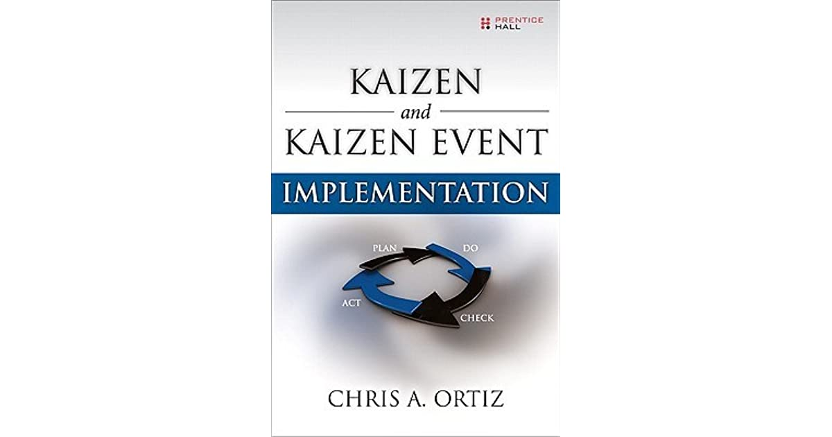 Kaizen And Kaizen Event Implementation By Chris A Ortiz