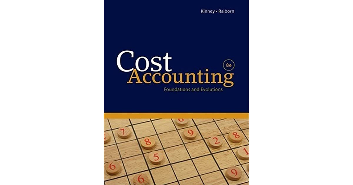 Pdf cost accounting books