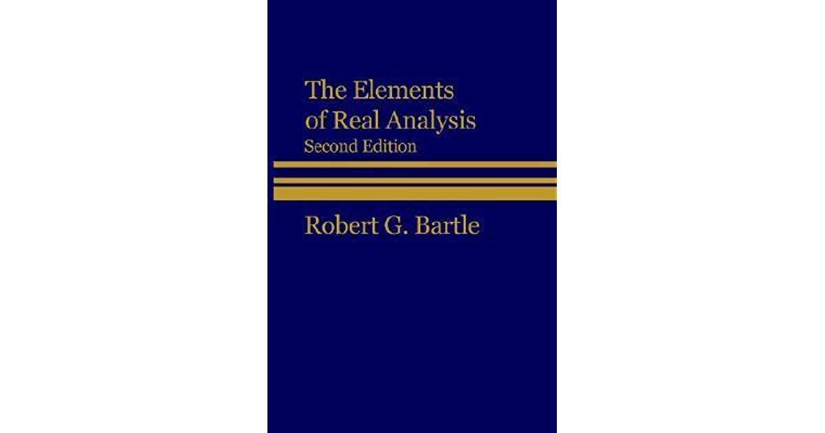 Bartle The Elements Of Integration And Lebesgue Measure