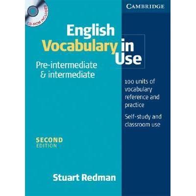 Vocabulary In Use Intermediate Stuart Redman Pdf