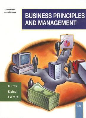 Business Principles and Management by James L  Burrow