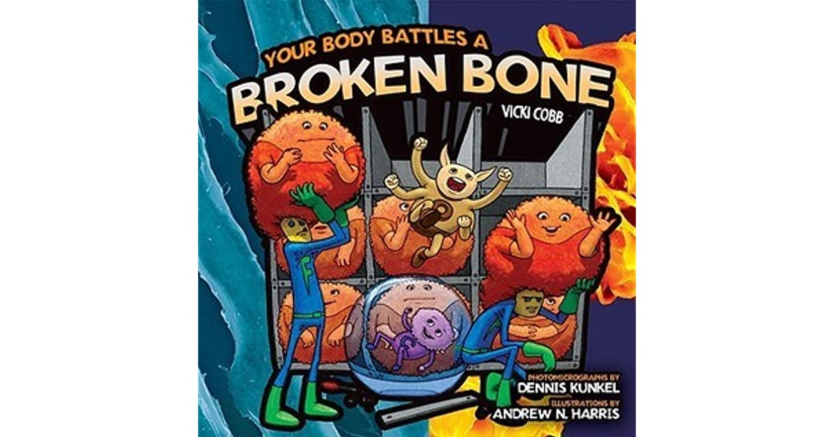 Your Body Battles A Broken Bone By Vicki Cobb