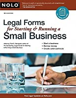 Legal Forms For Starting Running A Small Business By Fred S Steingold - Get legal forms