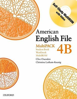 American English File Level 4: Student Book/Workbook