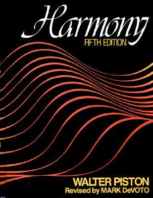 Harmony By Walter Piston