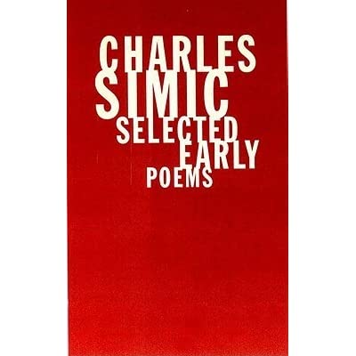 an interpretation of charles simics poem cabbage Free collection of all charles simic poems and biography see the best poems and poetry by charles simic.