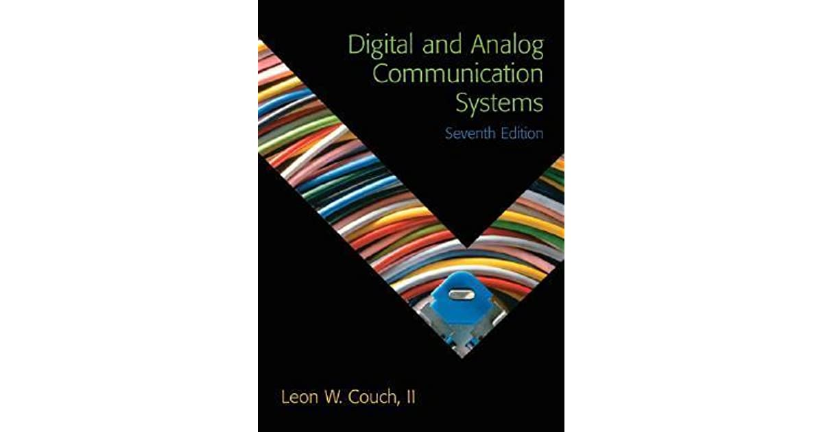 Digital and analog communication systems by leon w couch fandeluxe Gallery