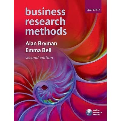 Business research methods by alan bryman fandeluxe Image collections
